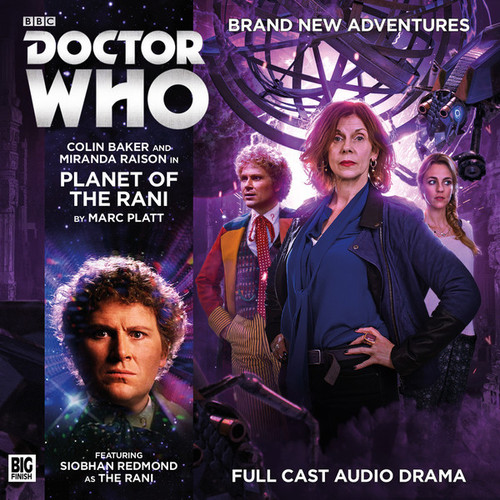 Planet of the Rami Audio CD - Big Finish #205