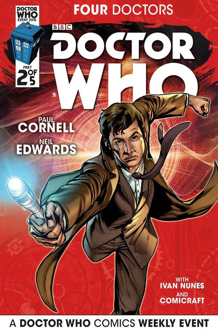 Four Doctors 2015 Event Titan Comics #2 of 5