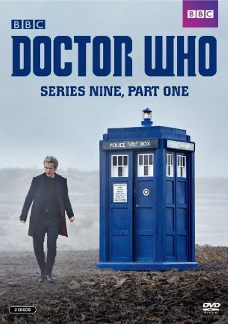 Series 9 Part 1 DVD  - Starring Peter Capaldi as the Doctor