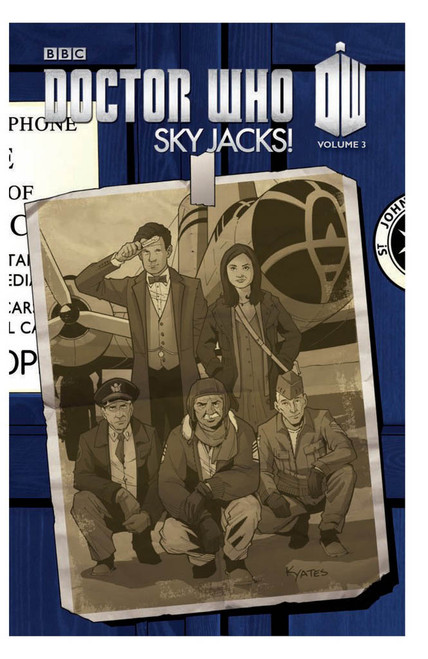 "Series 3, Vol. 3 ""Sky Jacks!"" IDW Graphic Novel"