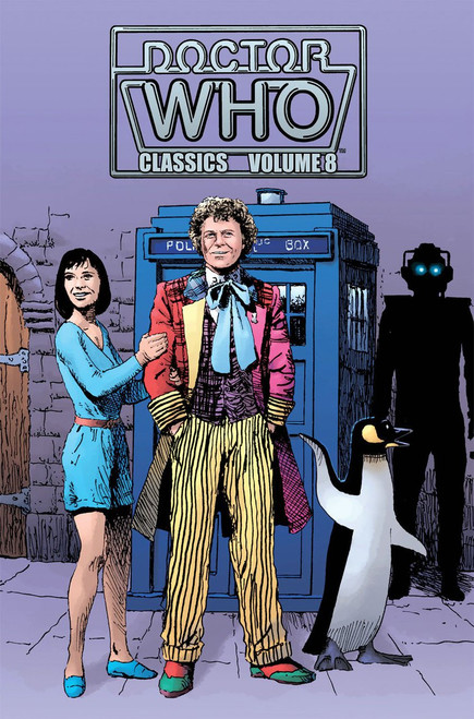 Doctor Who Classics Volume 8 IDW Graphic Novel