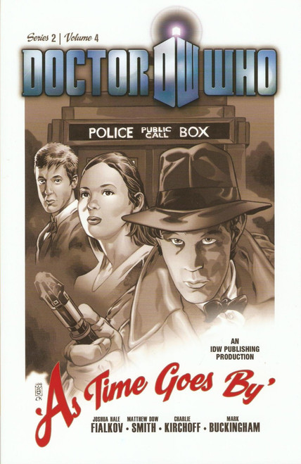 "Series 2, Vol. 4 ""As Time goes By"" IDW Graphic Novel"