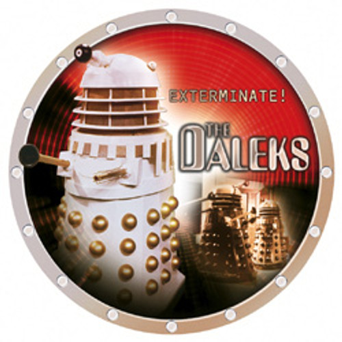 "Dalek 8"" UK Collector's Plate"