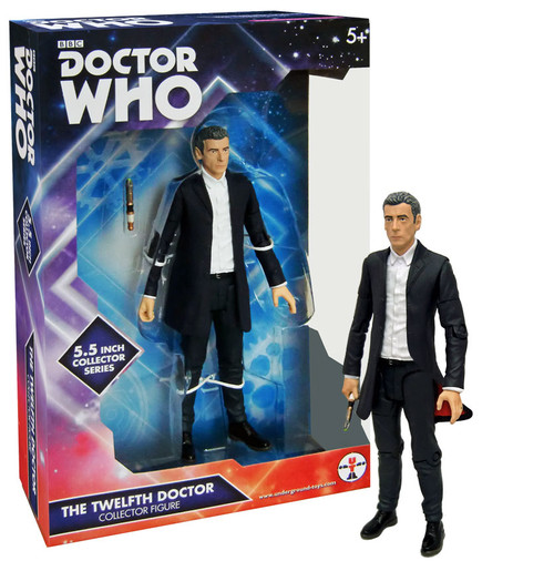 12th Doctor Peter Capaldi - Series 9 Action Figure - Character Options