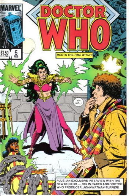 Doctor Who Marvel Comics #5