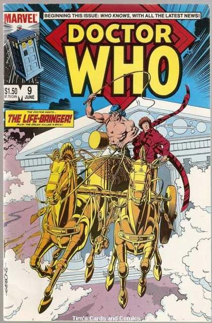 Doctor Who Marvel Comics #9