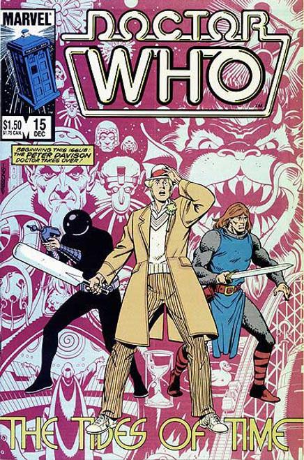 Doctor Who Marvel Comics #15