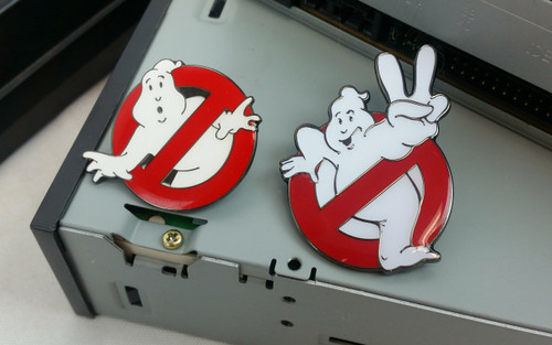Ghostbusters Logo Pins - Set of Two