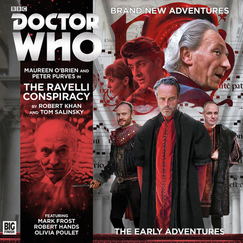 The Early Adventures #3.3 - The Ravelli Conspiracy - Big Finish Audio CD