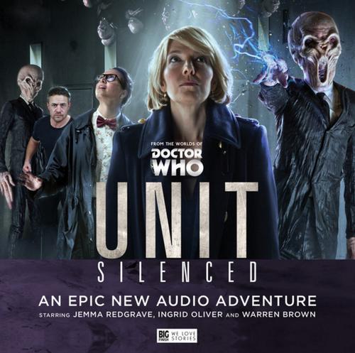 UNIT: Silenced - Big Finish Audio CD