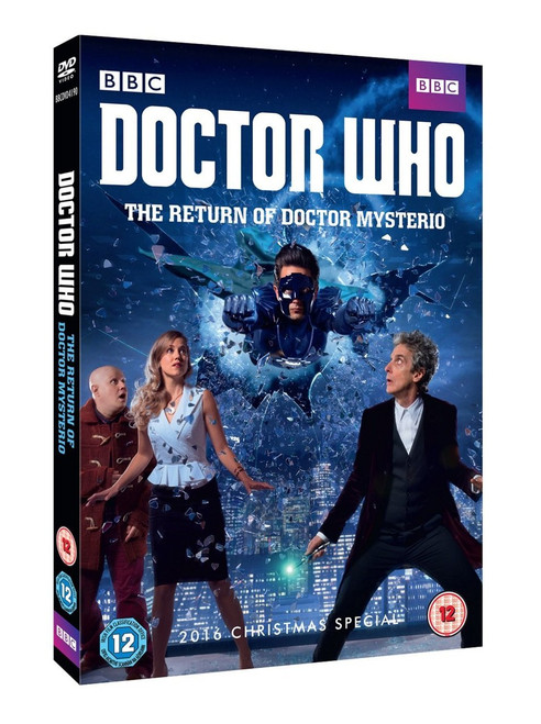 """""""The Return of Doctor Mysterio"""" Doctor Who Christmas Special 2016 DVD  - Starring Peter Capaldi as the Doctor"""