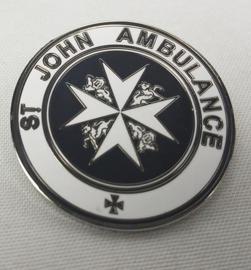 St. John's Ambulance Emblem Enamel Pin