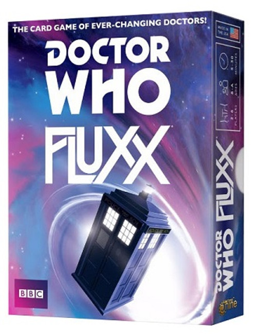 Doctor Who Fluxx Table Top Card Game