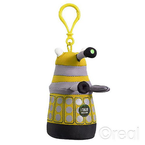 Talking Yellow Mini Dalek Doctor Who Plush