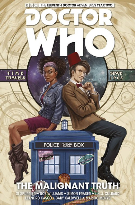 Doctor Who: The Eleventh Doctor, Vol. 6: The Malignant Truth (Hardcover)