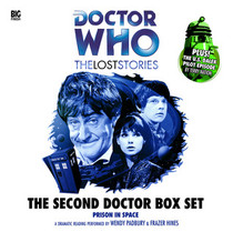 Second Doctor Box Set - The Lost Stories - Big Finish Box Set
