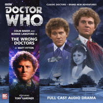 The Wrong Doctors - Big Finish 6th Doctor Audio CD #169