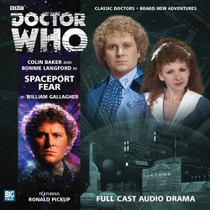 Spaceport Fear - Big Finish 6th Doctor Audio CD #170