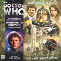 Antidote to Oblivion - Big Finish 6th Doctor Audio CD #182