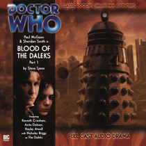 The Eighth Doctor Adventures 1.1 - Blood of the Daleks Part #1 Big Finish Audio CD