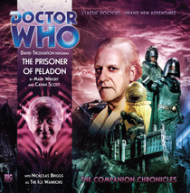 Companion Chronicles - The Prisoner of Peladon - Big Finish Audio CD 4.3