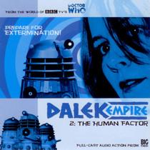 Dalek Empire: The Human Factor- Big Finish Audio CD