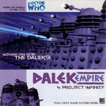 Dalek Empire: Project Infinity- Big Finish Audio CD