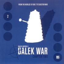 Dalek Empire: Dalek War Chapter 2- Big Finish Audio CD