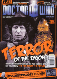 Doctor Who Magazine #443 Two Alternative Covers