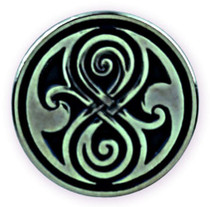 Seal of Gallifrey (Rassilon) Pin