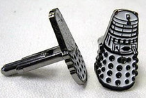 White Dalek Cufflinks
