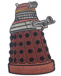 Red Dalek Patch