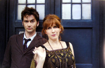 10th Doctor with Donna Noble Print