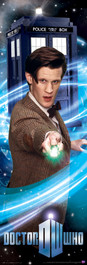 """The 11th Doctor and Sonic Screwdriver Poster 11.75"""" X 36"""""""