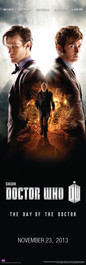 "Day of the Doctor Door Poster 11.75"" X 36"""