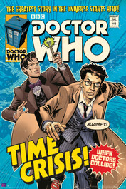 """Time Crisis Comic Cover Poster 24"""" X 36"""""""