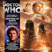 Masters of Earth Audio CD - Big Finish #193