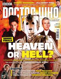 Doctor Who Magazine #479 Moffat Interview!