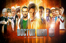 11 Doctors 50th Anniversary Print