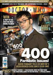 Doctor Who Magazine #400