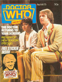 Doctor Who Magazine #73