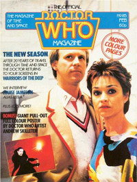 Doctor Who Magazine #85