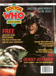 Doctor Who Magazine #187
