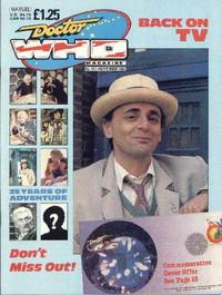 Doctor Who Magazine #142