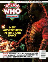 Doctor Who Magazine #171