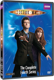 Complete Series 4 DVD Boxed Set - Starring David Tennant as the Doctor