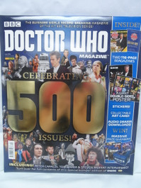 Doctor Who Magazine #500 - Special Anniversary Issue