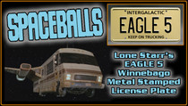 "License Plate - SPACEBALLS - ""EAGLE 5"""