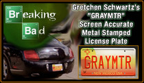 "License Plate - BREAKING BAD - ""GRAYMTR"""