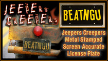 "License Plate - JEEPERS CREEPERS - ""BEATNGU"""
